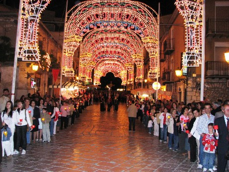 Luminarie in Largo Nazareno